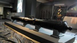 El cañón plantado en Palermo que luchó en la Gran Armada