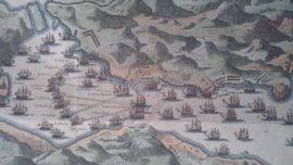 Últimas noticias de la batalla de Rande. El Maracaibo nunca salió de allí