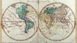 Los mapas magnéticos y cartas esféricas. Sus verdaderos orígenes.
