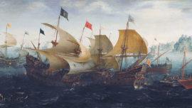 """La última """"contraarmada"""" inglesa en 1597"""