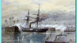 De como se tomó un fuerte al abordaje: Pagalugán, 1861