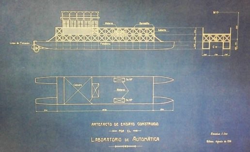 Torres Quevedo, el español que inventó el catamarán moderno